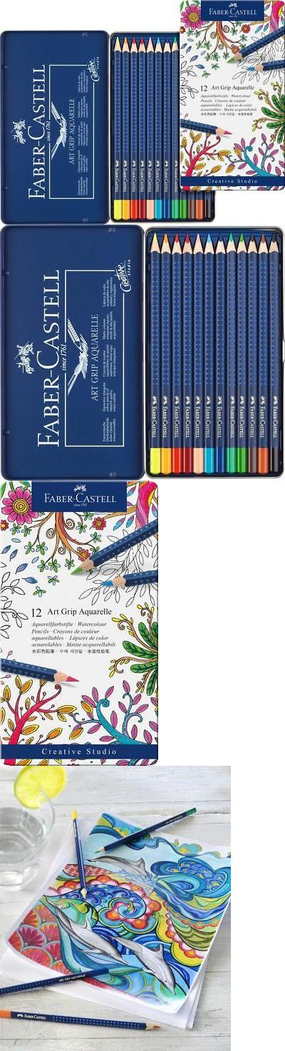 Art Pencils And Charcoal 28108 Faber Castell Art Grip Aquarelle