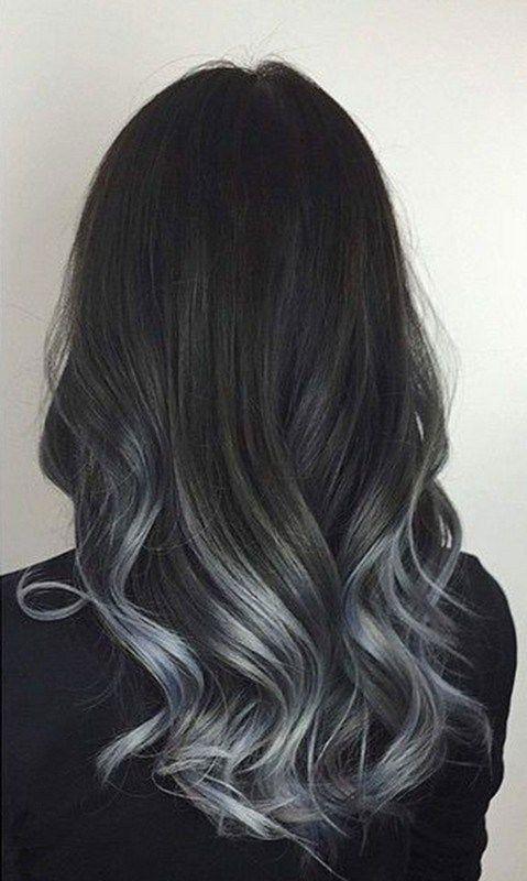 Amate le tinte pazze? Il trend Grey Ombré Hair è l\'ultima novità del ...