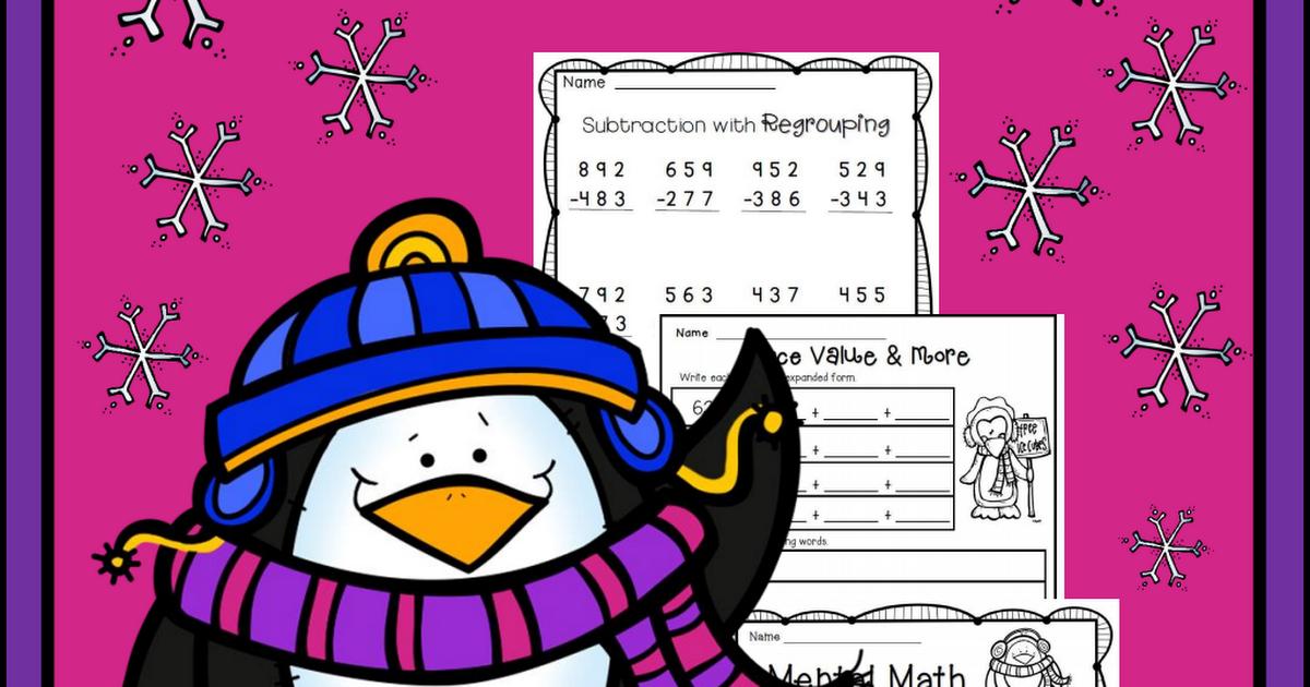 Penguin math freebie SF.pdf | Cálculo matemático | Pinterest | Cálculo