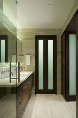 For your small bathroom - Bifold doors are an option you ...