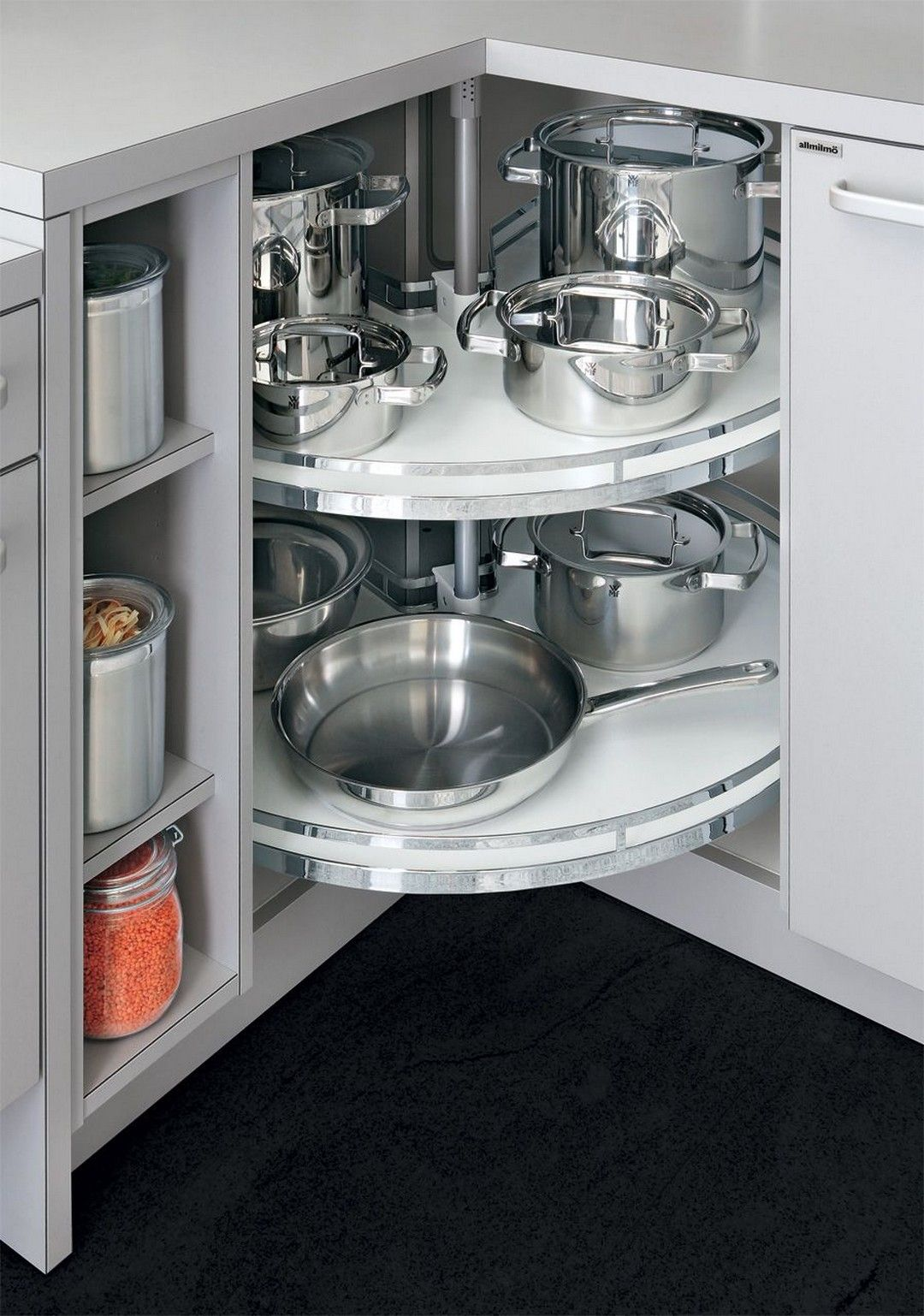Cabinet Storage & Organization Ideas For New Kitchen