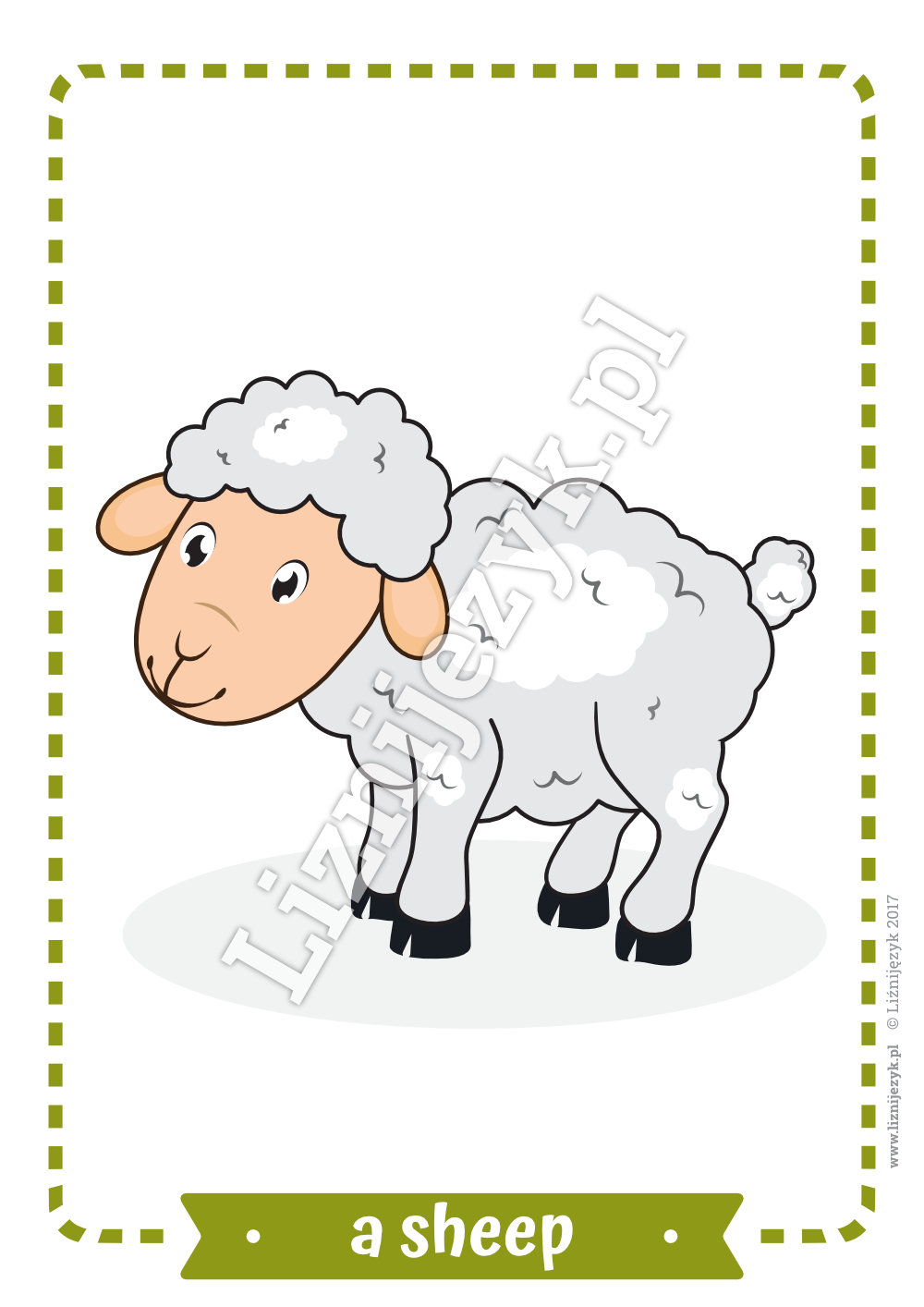 Farm Animals English Flashcards Farm animals, Animals