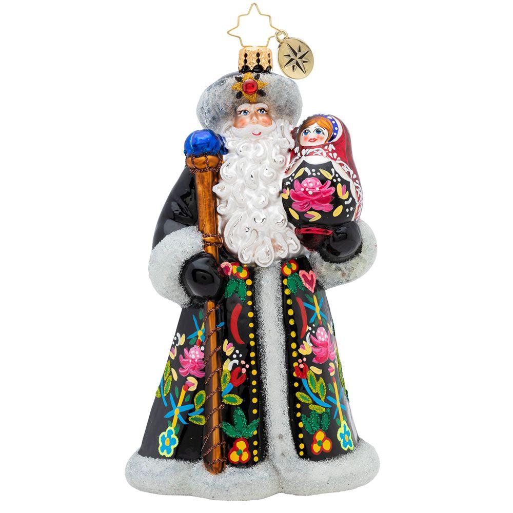 Christopher Radko Ornaments A Gift Of A Matryoshka Doll
