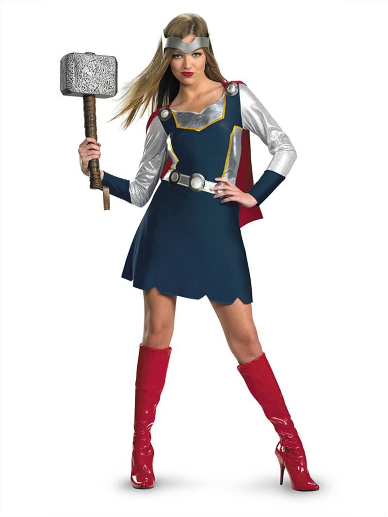 PIN10 for 10% off! Thor Girl Costume, Avengers Adult ...