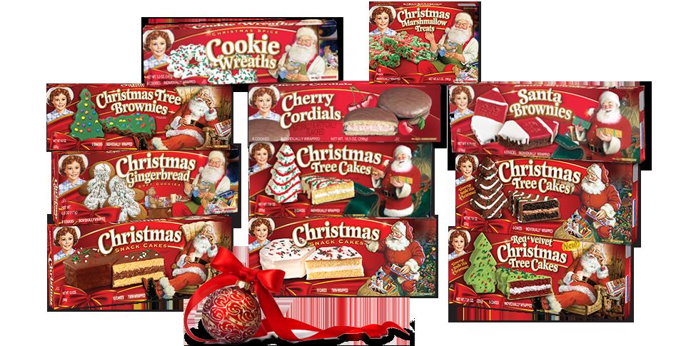 Little Debbie's Christmas Tree Brownies & Chocolate Christmas Tree ...