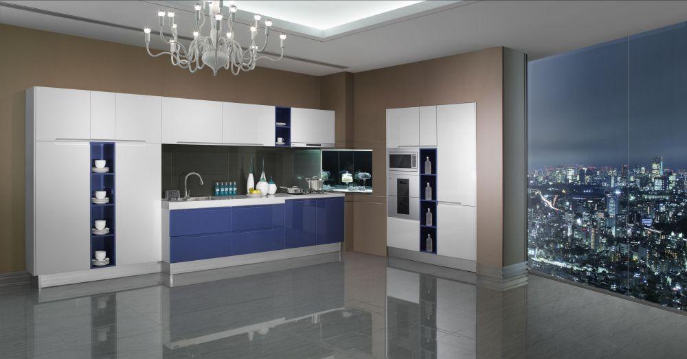 Best Modern Blue Line Kitchen Ir13 294 Kitchen Design 640 x 480