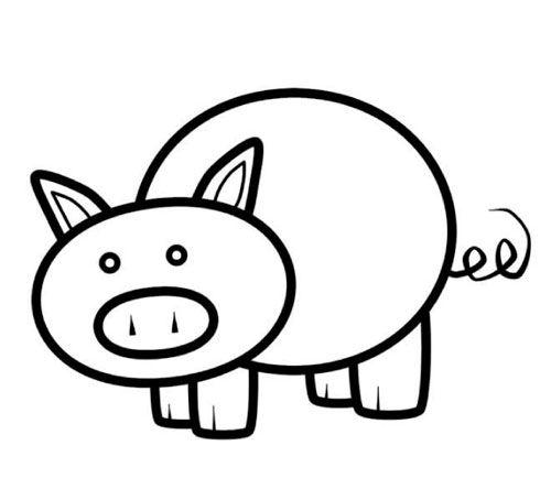 Pig Pattern Printable Google Search Felt Animals Pinterest