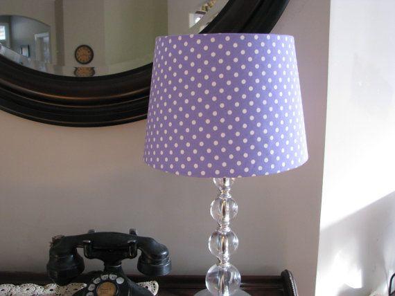 Lavender Purple Lamp Shade Purple Lamp Purple Lamp Shade Purple Lighting