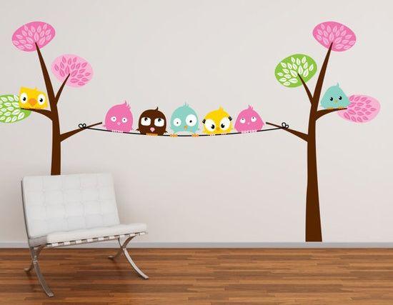 Dormitorios infantiles, cómo decorar sus paredes | Dormitorios ...