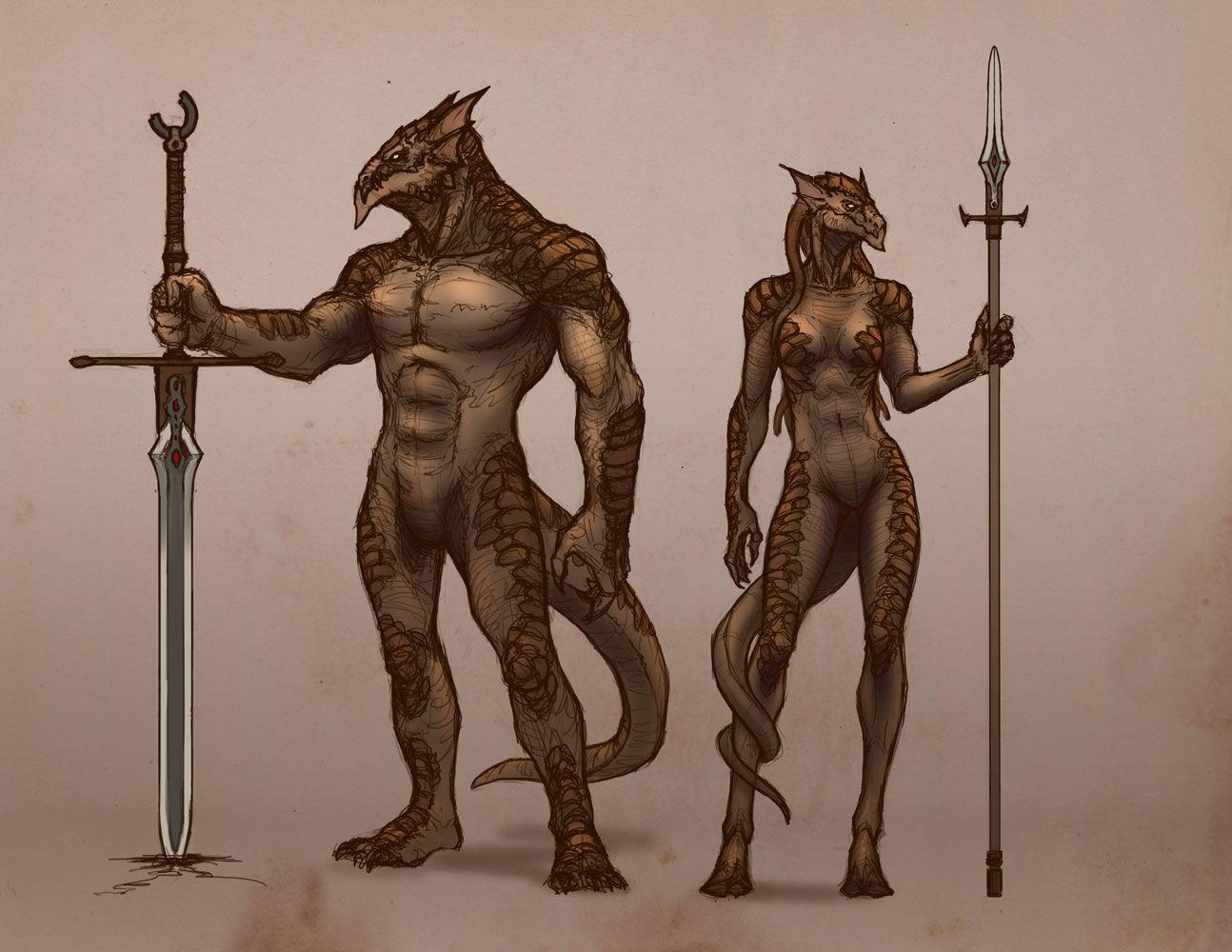 dragonborn_male&female