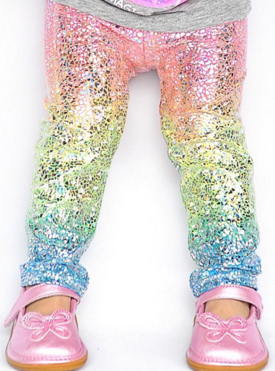 5dff3fb3452f4 Darling unicorn leggings for little girls | Baby? ...maybe | Baby ...