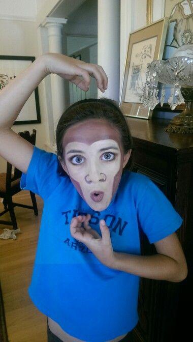 Easy monkey | Jungle book costumes, Monkey face paint ... - photo#45