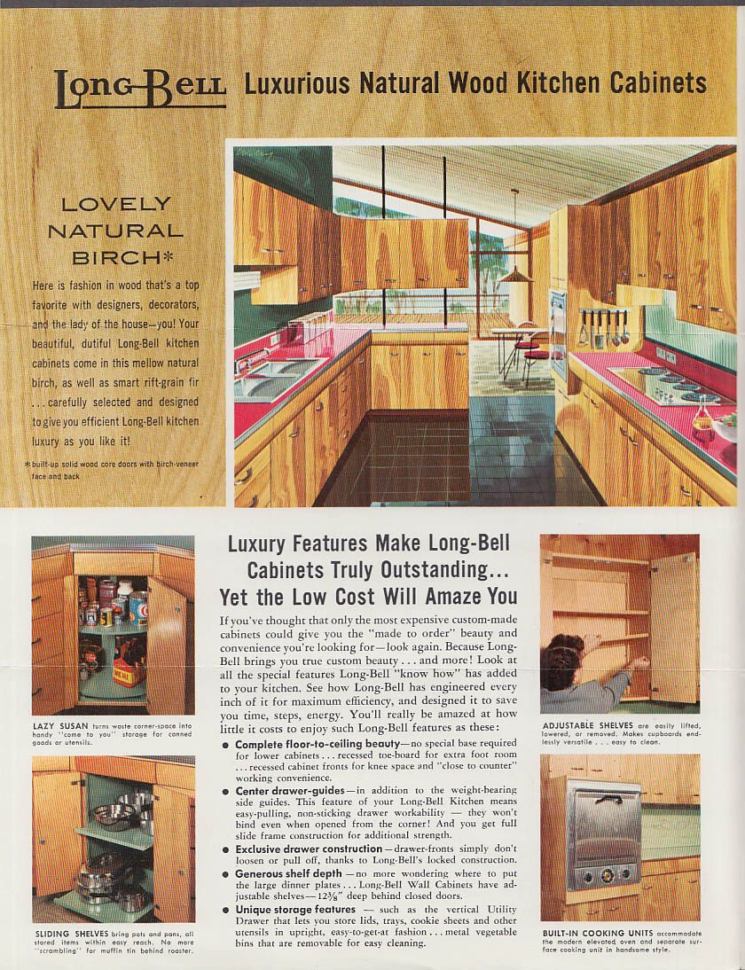 Long Bell Kitchen 1955 Longview, WA Kitchen