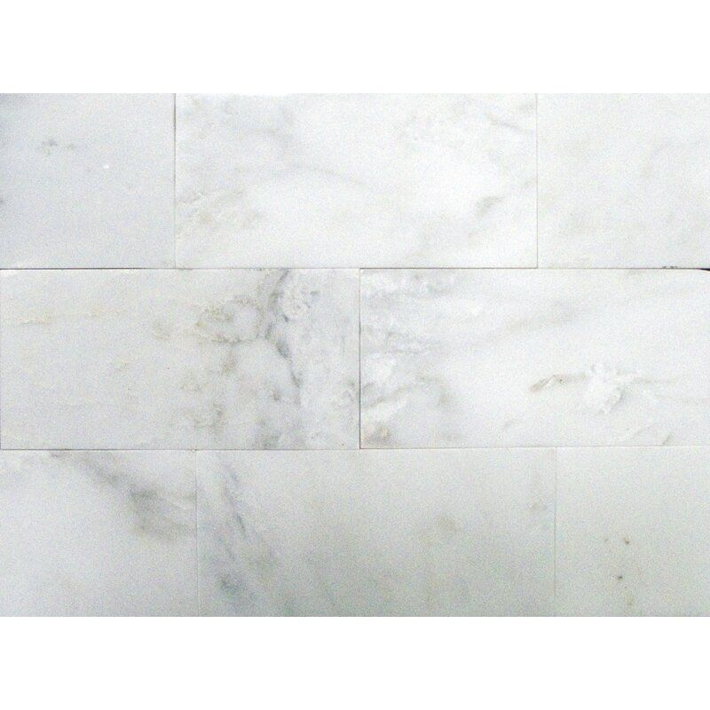 Msi Arabescato Carrara 6 X 12 Marble Field Tile Reviews In 2020 Marble Floor Polish Marble Floor White Marble Floor