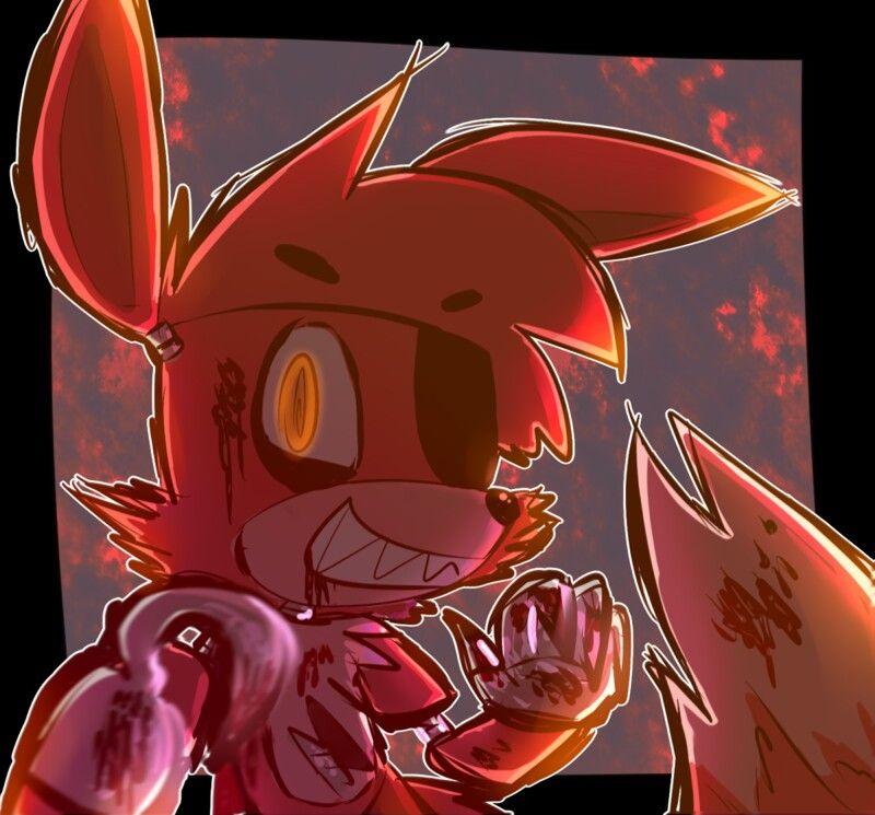 Foxythe pirate fox anime fnaf fnaf foxy anime