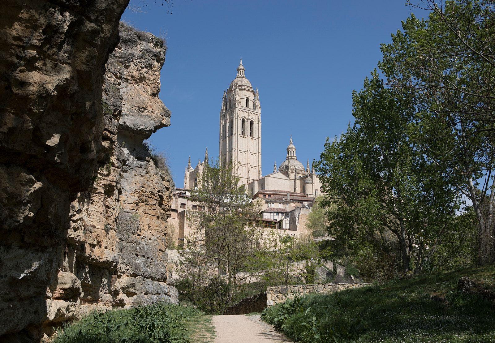 Segovia Cathedral. - The Cathedral at Segovia.