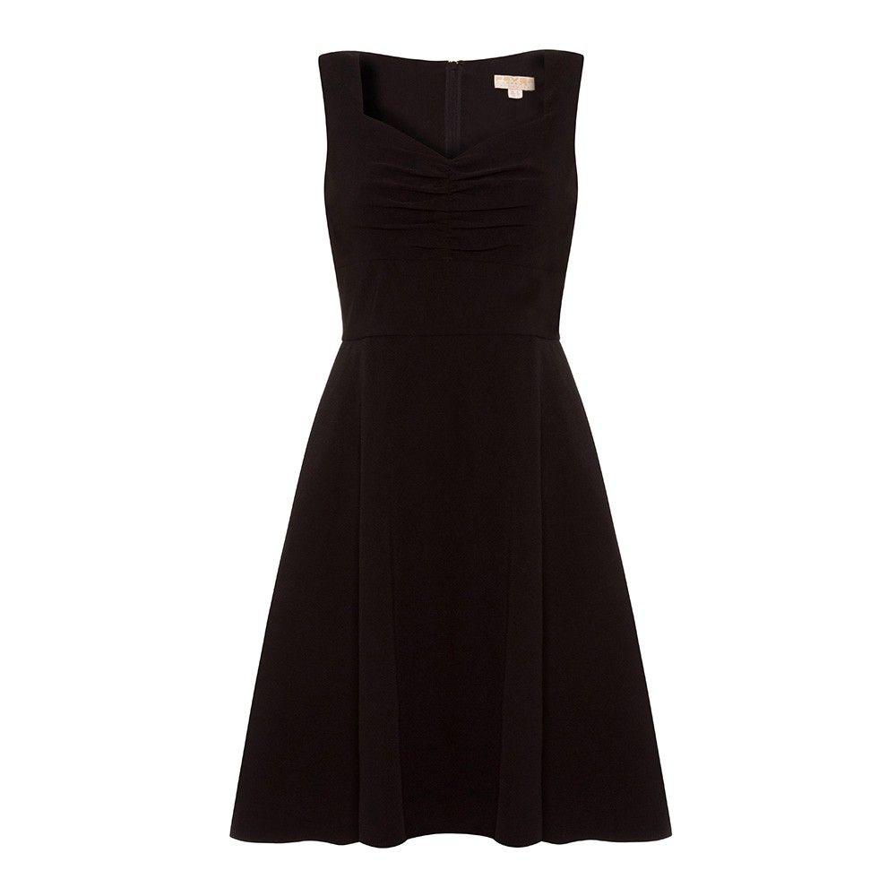 Ruby s sweetheart neckline prom dress black fever london