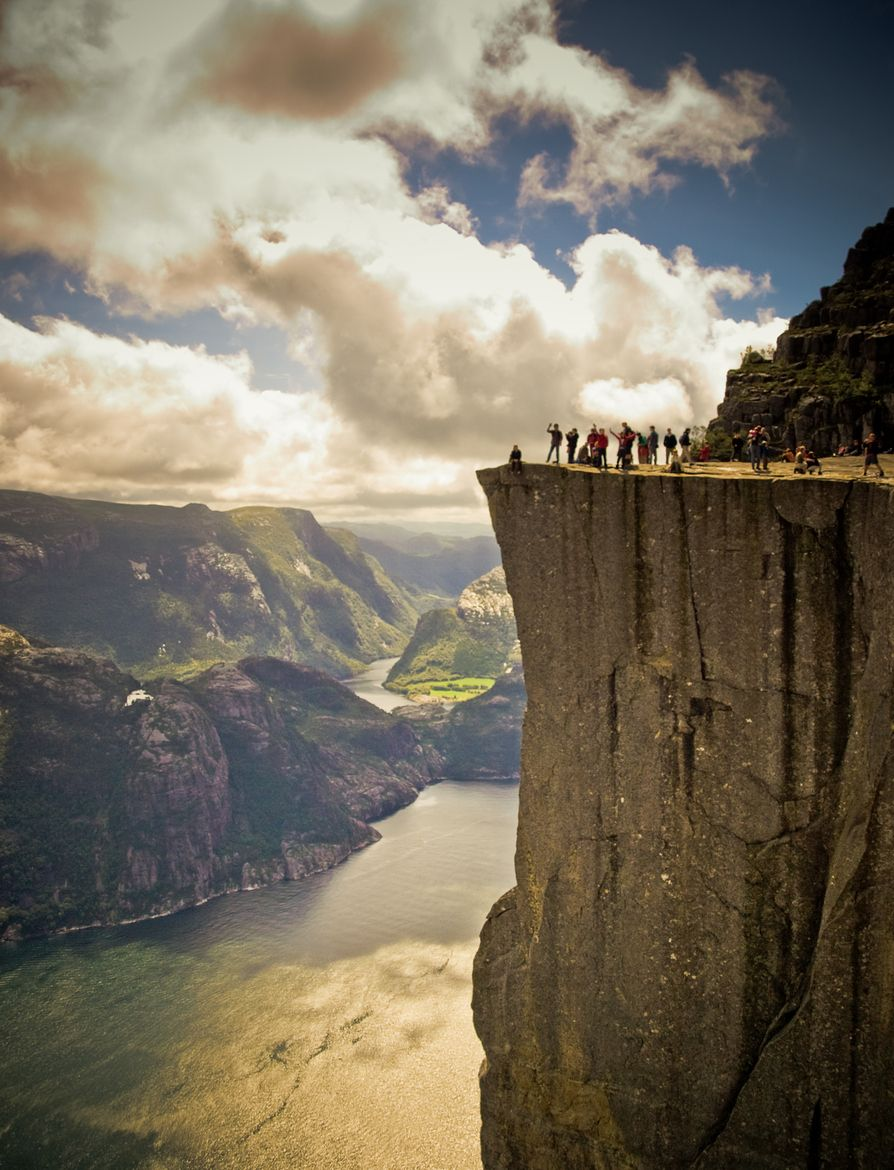 Lysefjord, Norway I would LOVE to go here someday! Beautiful!
