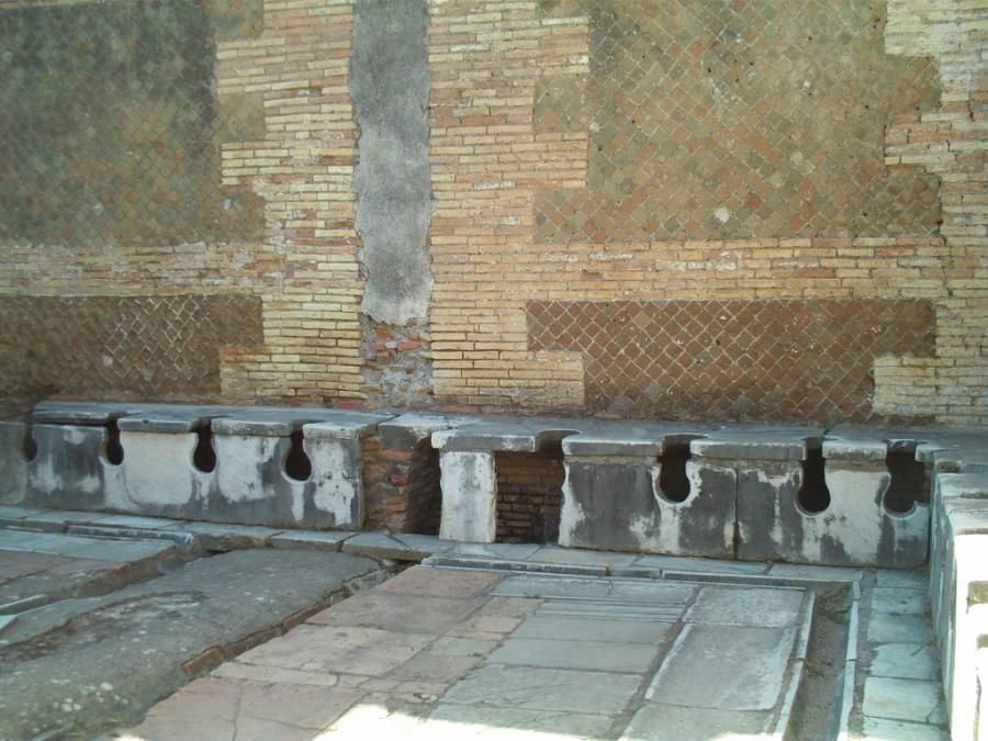 Toeletta Ostia ~ What toilets and sewers tell us about ancient roman sanitation