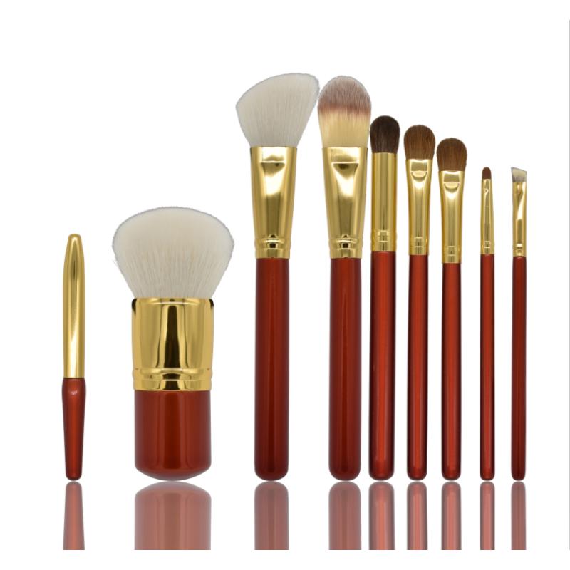 OYE 9 Pieces of professional makeup brush makeup kit Real