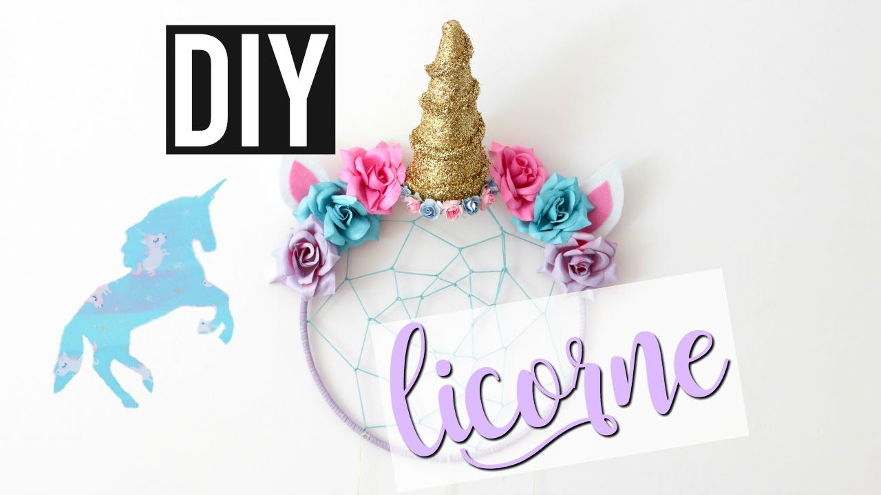 DIY LICORNE : Deco Chambre / UNICORN Room Decor (français)  Rooms