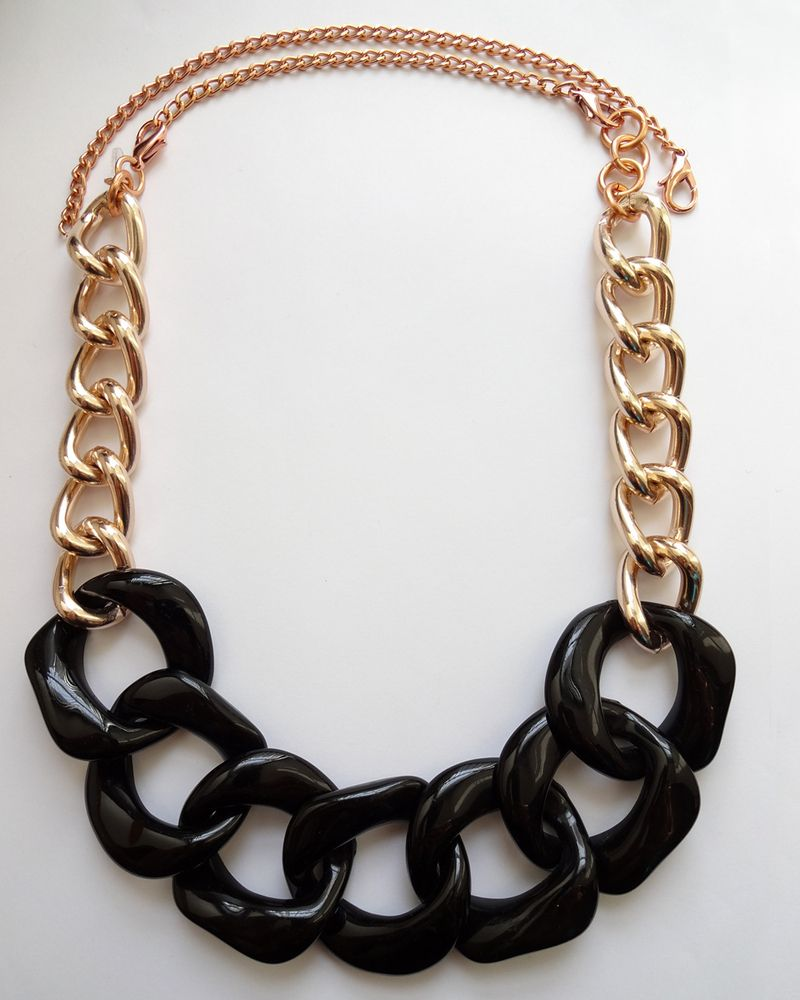 Vogue rose gold convertible necklace my style pinterest