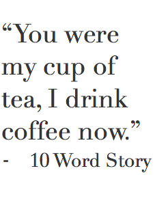 You are my cup of tea meaning in hindi