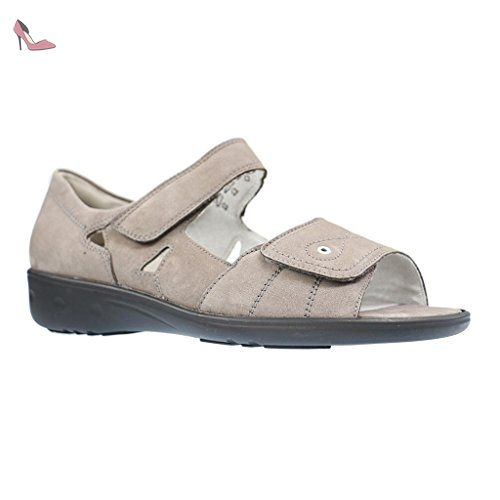 Chaussures Waldläufer Garda grises femme 0EAf0w4lEj