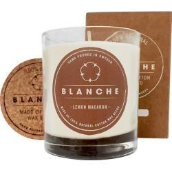 Blanche Raumduft Duftkerzen Lemon Macaron Large-Brenndauer 50 Stunden 1 Stk.Parfumdreams.de #wellnessimglas