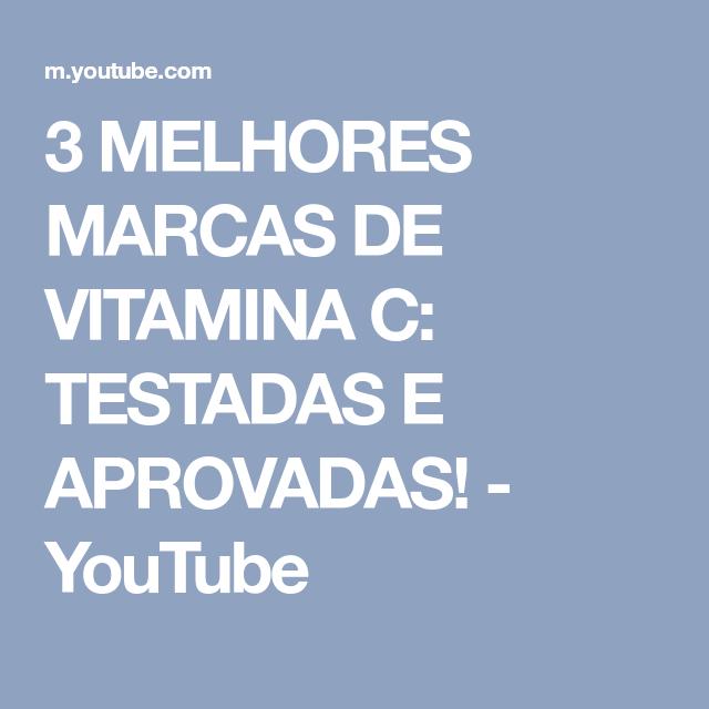 06cf59f06 3 MELHORES MARCAS DE VITAMINA C  TESTADAS E APROVADAS! - YouTube ...