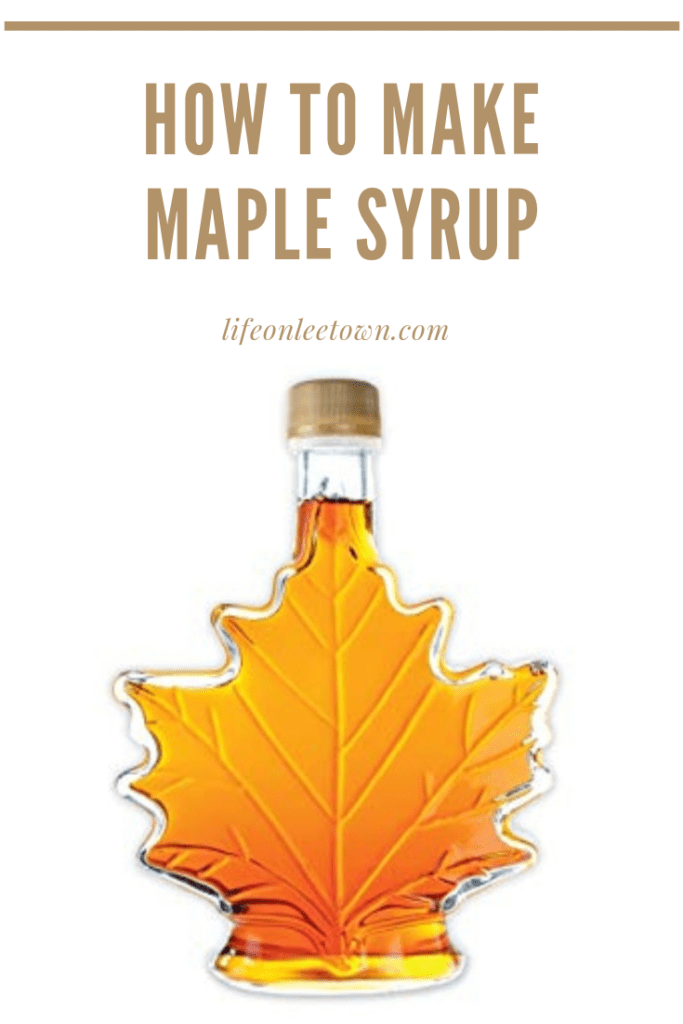 How To Make Maple Syrup In Your Own Back Yard By Tapping Maple Trees Maple Syrup Syrup Syrup Labels