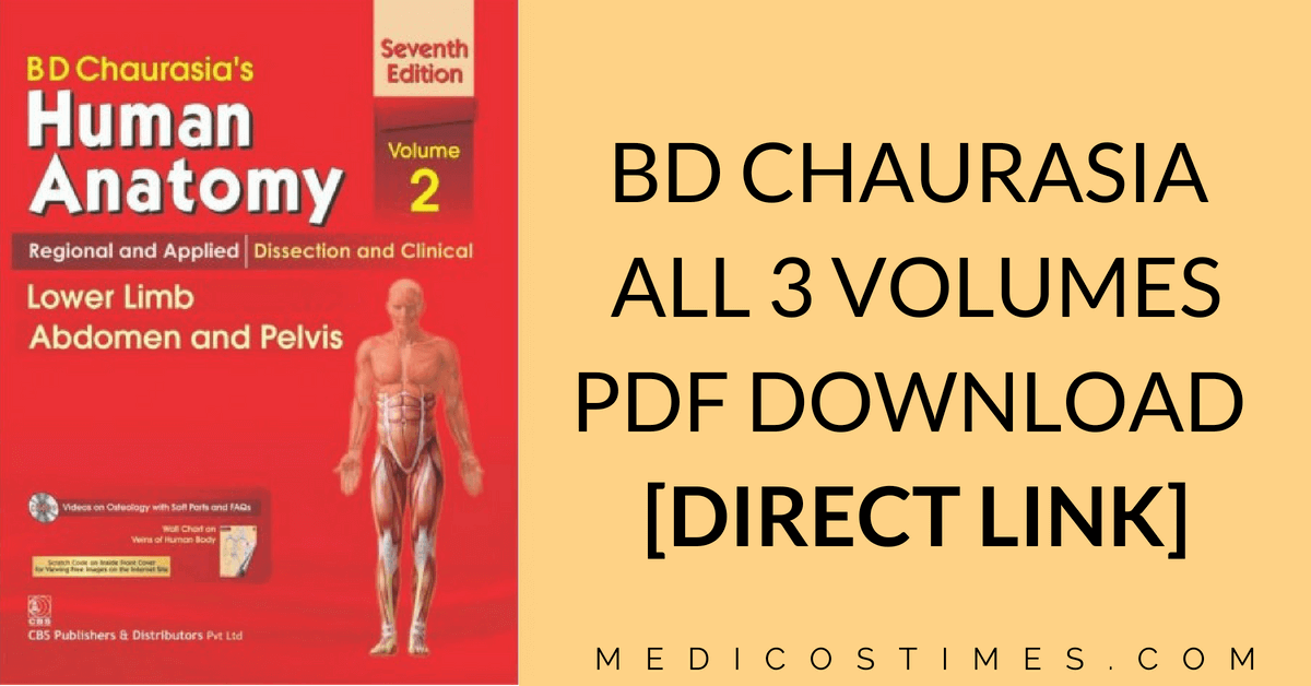 Bd Chaurasia Anatomy Pdf Book Downloads With Direct Links And
