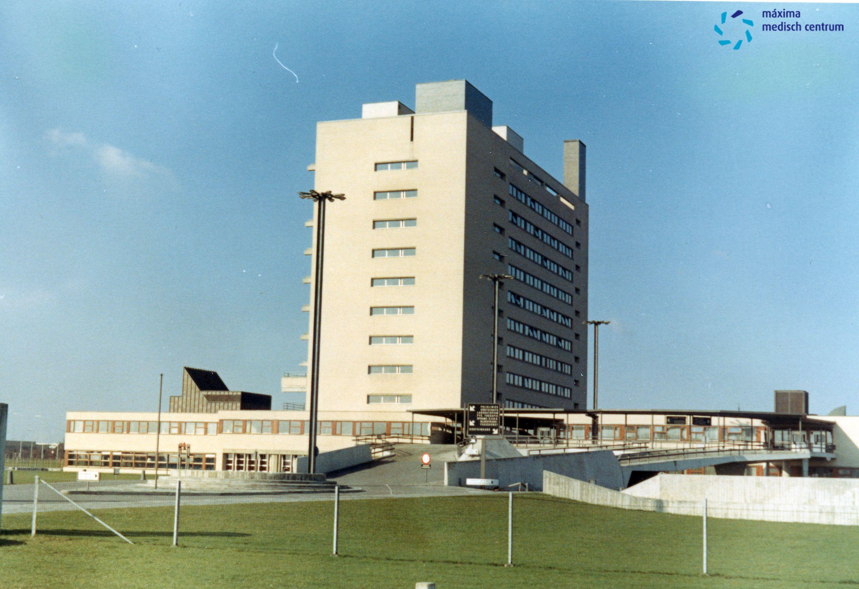 Diaconessenhuis september 1967 in Eindhoven, Fliednerstraat #ziekenhuis #hospital #mmc #MaximaMedischCentrum Maxima Medisch Centrum