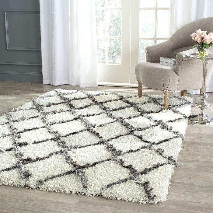 You'll love the Sewell Moroccan Shag Ivory/Gray Geometric Contemporary Area Rug at Wayfair - Great Deals on all Décor products with Free Shipping on most stuff, even the big stuff.