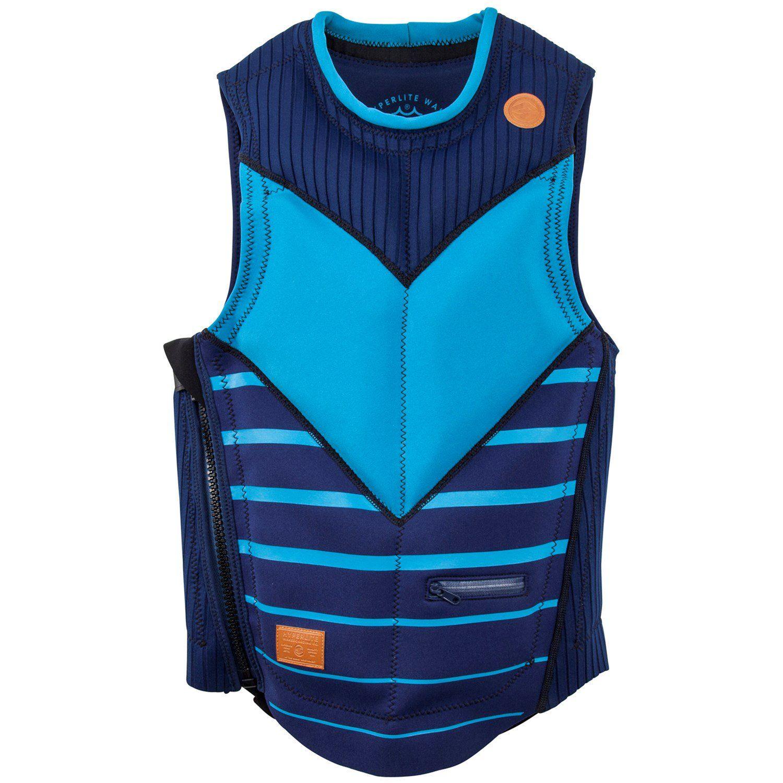 Hyperlite Jd Webb Comp Wakeboard Vest 2018 2x Large In Blue Neoprene In 2020 Comp Vest Life Vest Wakeboarding