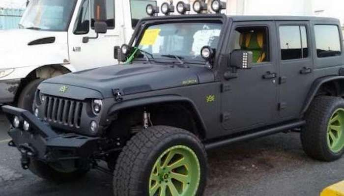 Usain Bolt S Jeep Wrangler Avorza Arrives In Jamaica
