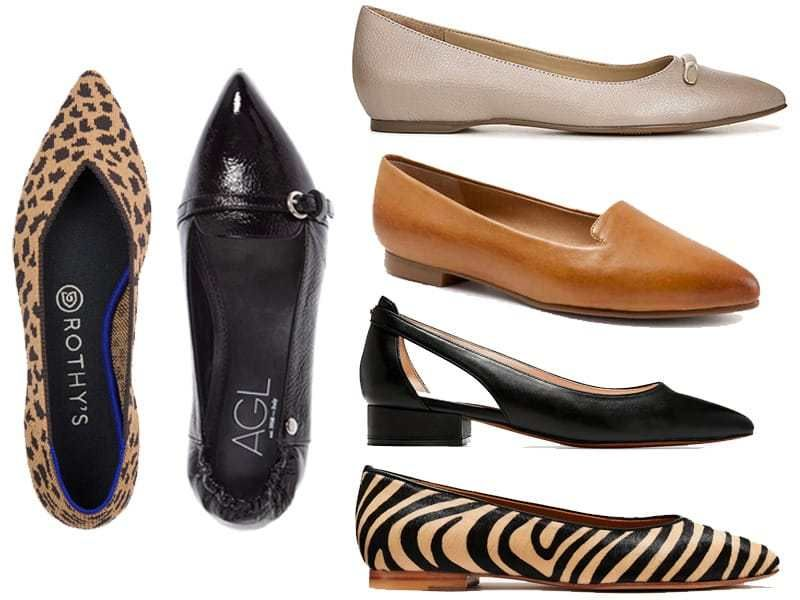 6 Comfortable Flats To Wear When You Can T Wear Heels In 2020 Comfortable Flats Best Loafers Heels