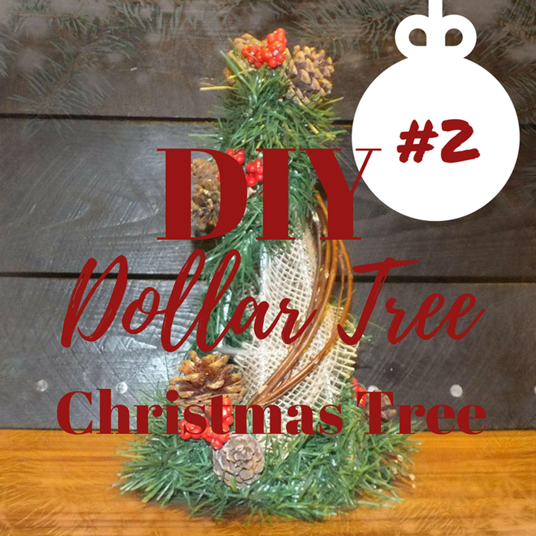 How to make a rustic christmas tree diy dollar tree rustic