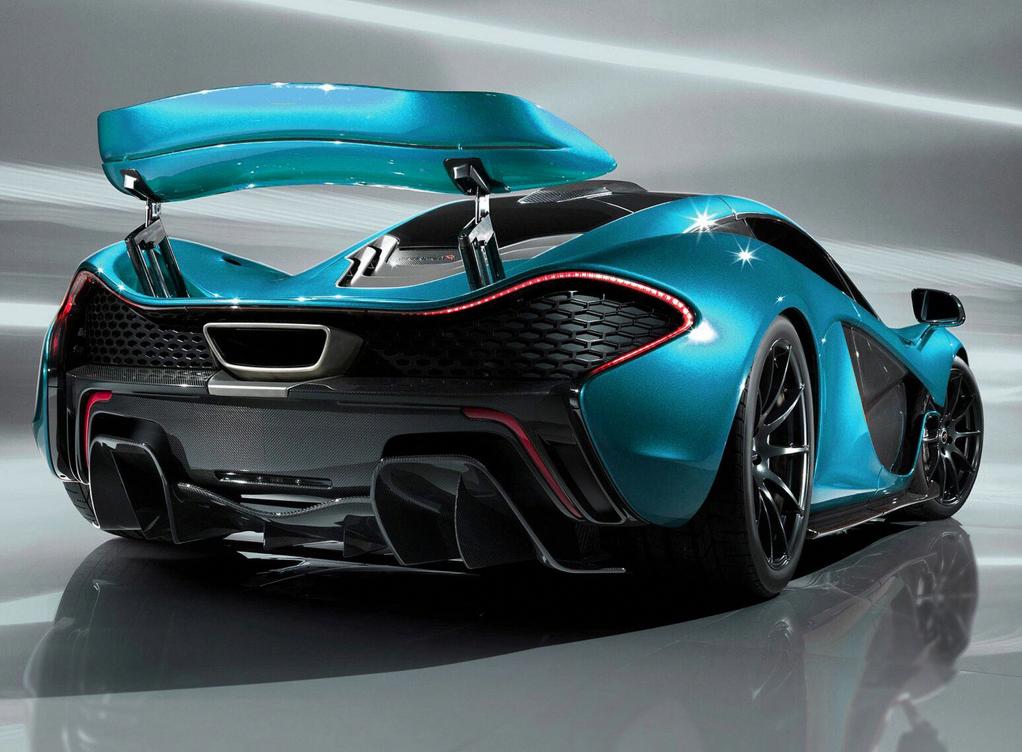 Mclaren S Paris Concept A High Tech Supercar With Images Super Cars Supercars Concept Mclaren