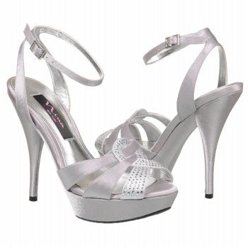 af08dbadea0 Theresa s shoes. Women s Nina Samuel Royal Silver Satin... Rachel will kill  herself wearing these!!  )