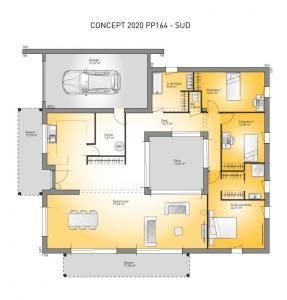 Modèle Et Plan De Maison Concept 2020 Pp164 Par Le