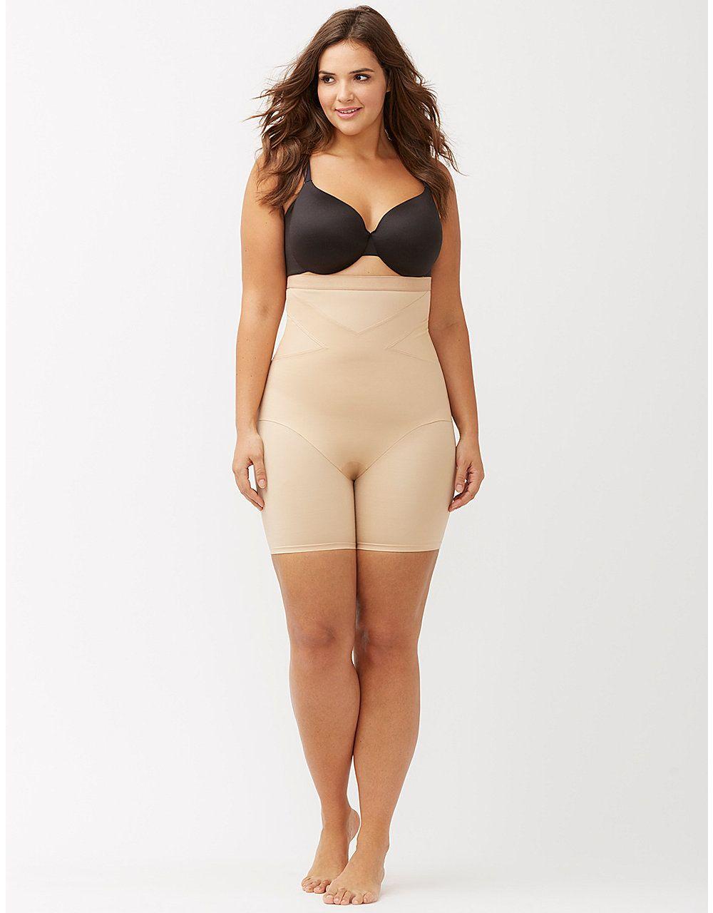 a1e1495282 High waist thigh shaper by Shape by Cacique