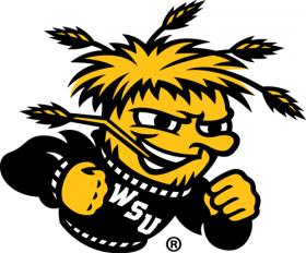 2010-Pres Wichita State Shockers Secondary Logo Iron On Sticker