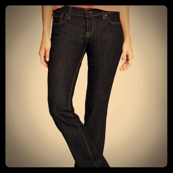 """NEW The Flirt Bootcut Jeans NWOT dark wash bootcut jeans. Size 16 - Long 34"""" inseam Old Navy Jeans Boot Cut"""