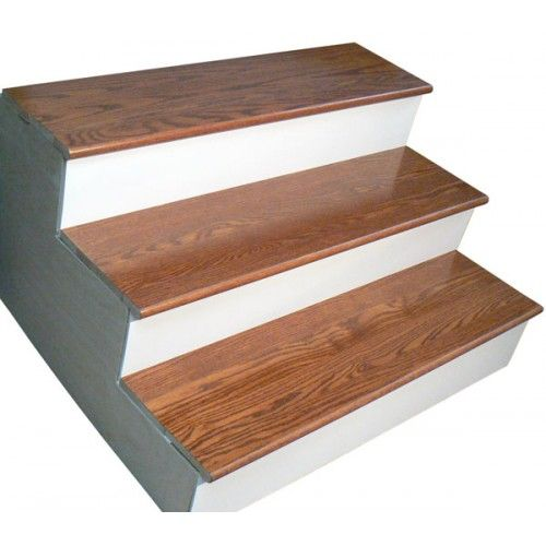Red Oak Gunstock Retro Stair Tread Closed 36 In Closed Box | 36 Oak Stair Treads | Stair Parts | Red Oak | Lowes | White Oak | Unfinished Solid
