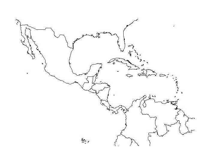 This is a quiz called Central America and Caribbean Countries and ...