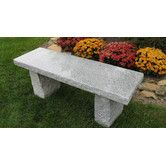 Found It At Wayfair Granite Garden Bench Stone Garden Bench