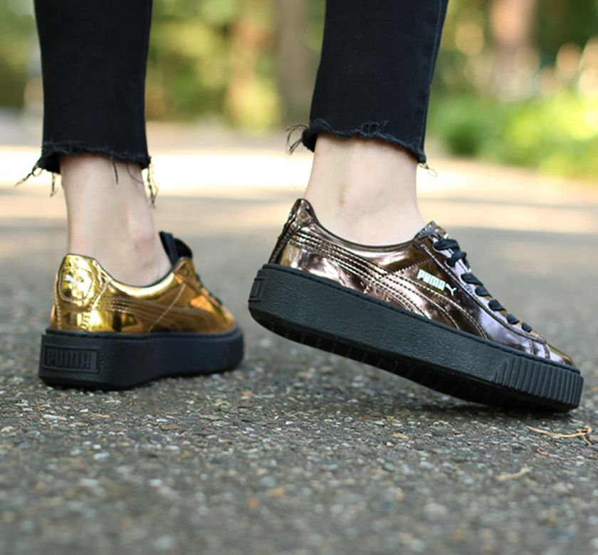 puma creeper metallic