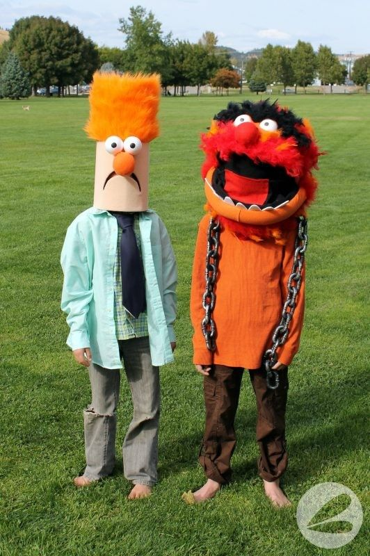 Beeker Muppet Costume Tutorial - Cute halloween costumes, Costume tutorial, Halloween party supplies, Halloween costumes for kids, Animal muppet, Muppets - This Beeker Muppet Costume tutorial is awesome  This article is complete with stepbystep instructions that make it easy to become Beeker this Halloween
