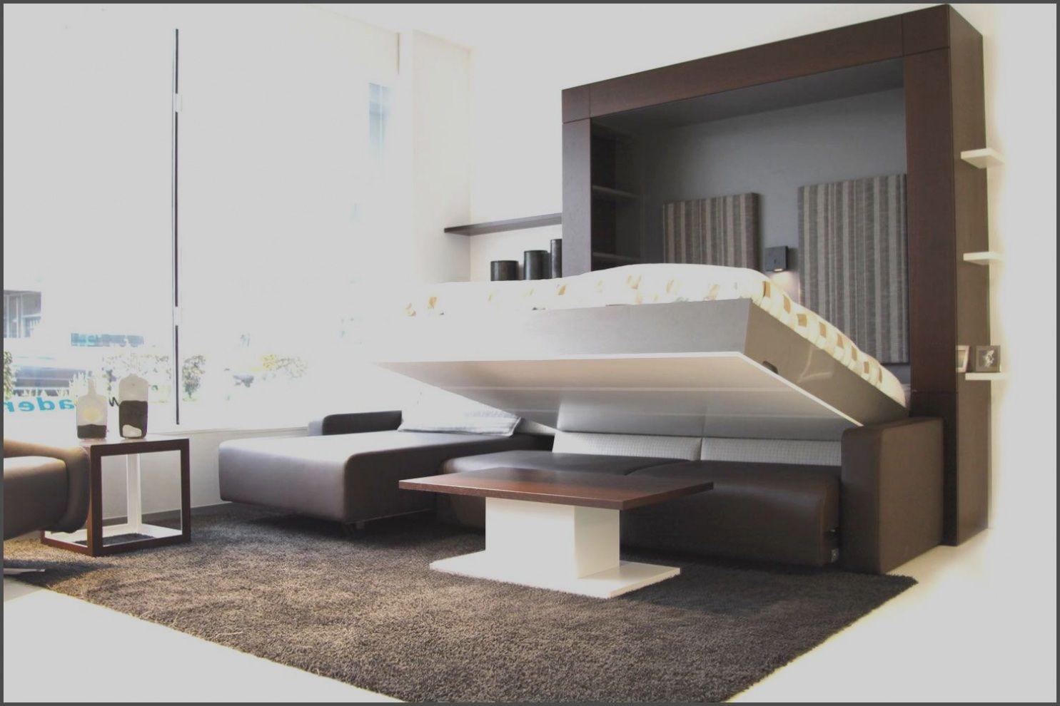 bett im wohnzimmer integrieren   Small rooms, Elegant ...